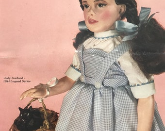 Effanbee pamphlet from Doll Reader 1980s...free shp