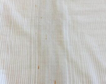 Nani Iro metallic stripe double gauze by Kokka Japan