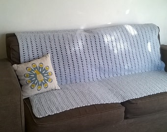 Chunky Crochet Blanket - Made to Order - Choice of Colour & Size