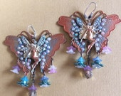 Butterfly fairy earrings