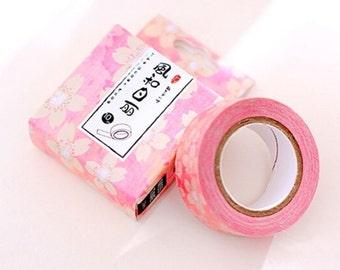 Flower Washi Tape Masking Tape Planner Stickers Scrapbooking Stickers