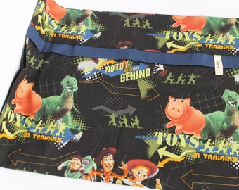 Toy Story Pillowcase SINGLE ONLY Buzz Lightyear Woody Disney Cotton Africa Adoption Fundraiser