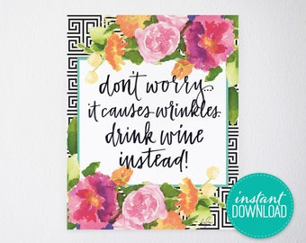 Don't Worry Printable