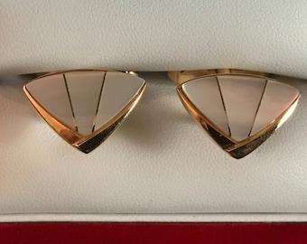 Original Vintage Mother-of-Pearl Cufflinks