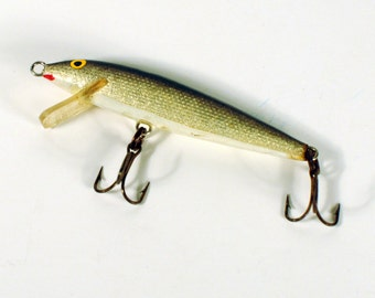Vintage Fishing Lure Rapala Magnum 18 Floater Bass Bait - Camp Cabin Decor -  1970s Floating Bait - Fishing Tackle