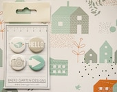 Badges Birdie - Flair Buttons for Scrapbooking