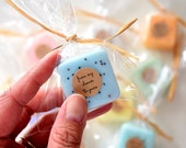 50 Wedding Favors - soap favors - Party Favors -Bridal Shower - Party Favors - Rustic Wedding - Custom Wedding Favors in your Wedding colors