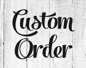 Custom Barn Quilt