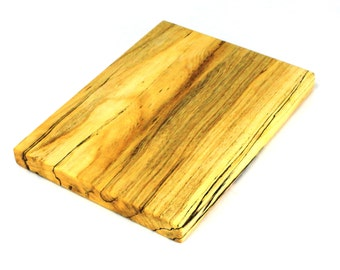 """Farmhouse Serving Board - Spalted Silver Maple - Ready to Ship - 12""""x9""""x1"""""""