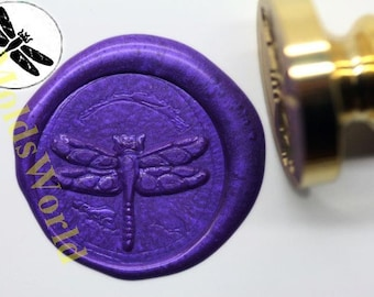 S1045 Dragonfly Wax Seal Stamp , Sealing wax stamp, wax stamp, sealing stamp
