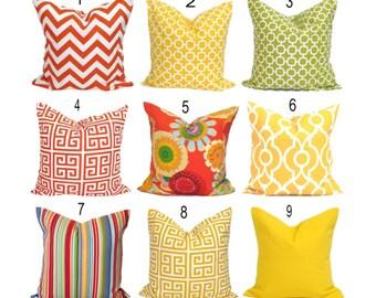 OUTDOOR PILLOWS, Pillow Cover, Decorative Pillow, Throw Pillow, Pillows, Accent Pillow, Pillow Covers, Outdoor Pillows, All Sizes, Floral