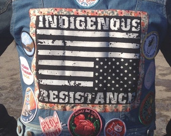 Indigenous Resistance Backpatch