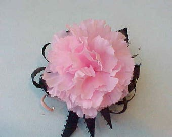 """Beautiful 1950's Millinery Flower or Corsage """"A Pink Carnation"""""""