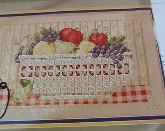 HARDANGER HARVEST - Cross Stitch Pattern Only