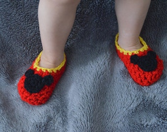 Unisex Toddler Mouse Slippers - house shoes