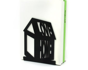 House Bookend, Love Home Bookend,, Modern And Minimalistic Style.