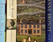 Bookmark, Brontë Sisters, Wuthering Heights, Jane Eyre, Gift for Booklovers, Bookish, Library, Writers' House, Haworth, Collage, Naive Art