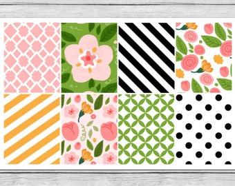 Bella Rose Full Box Planner Stickers