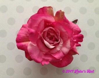 New Beautiful!! // Georgia Rose Hair Clip//Wedding Hair Flowers//Bridal Hair Flower