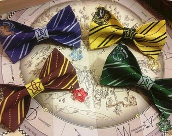 Starry Hogwarts Bow