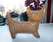 Vintage Swedish hand made ceramic cat - Upsala Ekeby - Dorothy Clough design