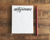 Nasty Woman note pads - 24 sheets