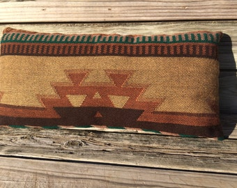 Southwest Lumbar, Western Pillow, Southwest Cushion, Rustic Pillow, Ranch Pillow, Ranch Decor, Western Decor, Lumbar Pillow, Rustic Decor