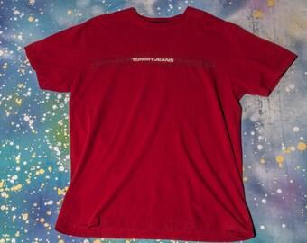 TOMMY Hilfiger JEANS Men's Shirt Size M