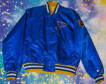 St. Louis BLUES Hockey Starter Jacket Size M