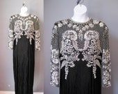 Showstopper Beaded Gown /...