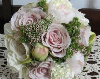 Bridal Bouquets, Brides Bouquet, Destination Bridal Bouquets, Silk Bridal Bouquets, Shabby Chic Bouquet, Wedding Flowers, Custom Bouquets
