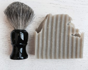 Aloe and Clay SHAVING BAR - Father's Day - Men Bentonite Clay Shaving Bar - Shaving Bar - Aloe Vera - all natural
