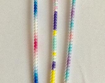 Unicorn wraps - set of 3 pastel colors- Tube Decor & Cable Protection