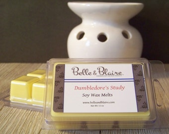 Dumbledore's Study- Soy Tarts- Harry Potter Inspired- Scented Wax Melts