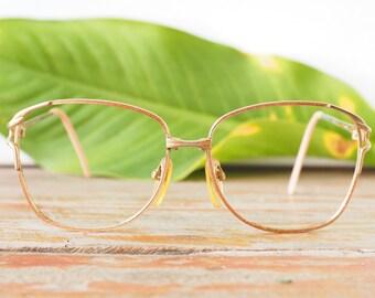 Eyeglass Vintage 1970's Funky Oversize Eyeglasses Glitter And Sparkle Enamel Frames Glasses