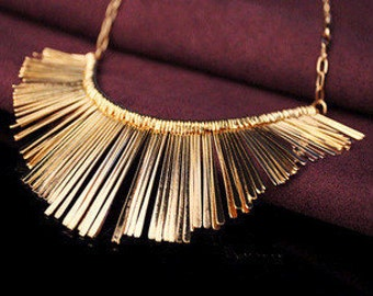 Tassel Necklace Collier High Quality Vintage Jewelry Statement Chokers