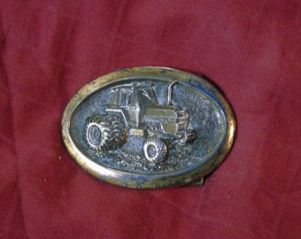 Tractor buckle brass Case limited edition 1979