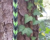 6' long fully braided lealsh