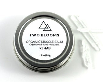 Organic Muscle Balm - Menthol Balm - Vapour Rub Victoria BC Vancouver Island Canada