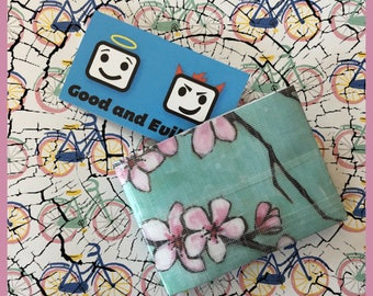 Cherry Blossom, Sakura, Duct Tape Wallet, Good and Evil Creations