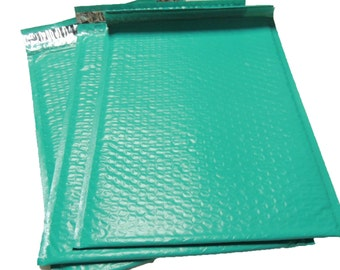 10 teal 10.5 x 15.5 Bubble Mailers, Size-5 Padded Self Adhesive Padded Mailer Envelopes Wholesale