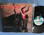 "RARE, Vintage, ""Legend"" - Original Soundtrack, , Tangerine Dream, Bryan Ferry, Jon Anderson, Vinyl LP, Record Album, Near Mint, Tom Cruise"