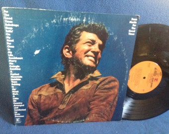 "Vintage, Dean Martin - ""For The Good Times"", In Shrink, Vinyl LP, Record Album, Original 1971 Press, Rat Pack, Raining In My Heart, Marry Me"