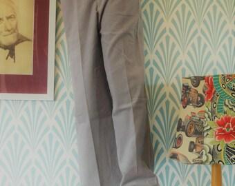 """23. Vintage corduroy Nino-Lansa pants grey (W34-L111cm / W13.4-L43.7"""")"""