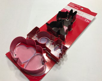 3 piece Love cookie cutter set, 90 mm (R8)