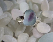 Size 6.5 Sea Glass Ring