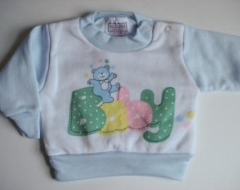 Newborn baby sweatshirt