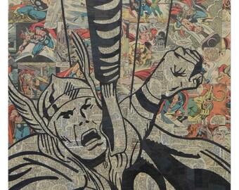 Thor Print 11x17