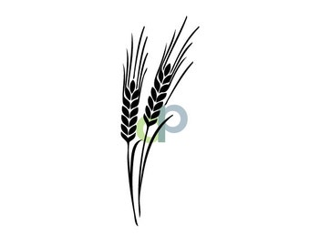 Wheat-SVG file for cutting
