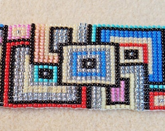 Squares Loom Bracelet